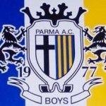 Coro Boys Parma sulla musica della sigla di Indietro tutta » Football a 45 giri | Football a 45 giri