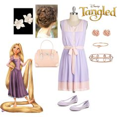 """""""Rapunzel garden party"""" by dance4life4love on Polyvore"""