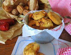 cousas de milia: Cookies con chorizo y nueces