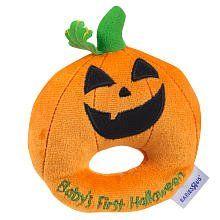Baby's First Halloween Pumpkin Ring Rattle~  very c u t e !