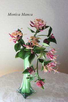 Honeysuckle Sugar Flowers