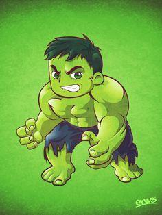 The Incredible Hulk Fan Art. By: Erws.