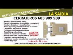 CERRAJEROS LA SAÏDIA VALENCIA 603 909 909