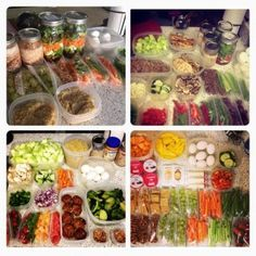 Prep Work on Healthy Momma! Ho to stay on track the whole week! Super easy How to Guide