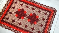 Tapete patch croche Cristina Luriko
