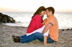 love, romance, engagement photos, engagement pictures, couples poses, couples photography, beach, sunset