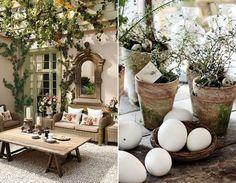 décoration de Pâques pour table