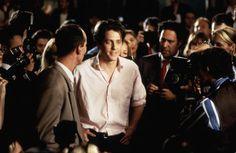 Born in Hugh Grant is an award-winning actor hailing from London, UK. Notting Hill Film, Film Trailer, Beautiful Film, Beautiful Men, Beautiful Things, 3 Movie, Movie Scene, Hugh Grant, Technology Humor