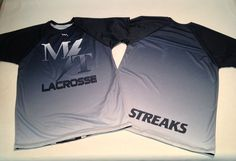 When you need custom lacrosse shirts, look no further Lightning Wear specializes in custom lacrosse shooter shirts and sublimated shorts.