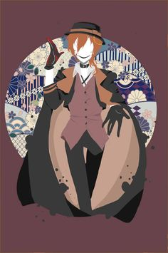 He looks like the Seven Deadly Sins in Vocaloid Bungou Stray Dogs . M Anime, Anime Guys, Anime Art, Bungou Stray Dogs Chuya, Stray Dogs Anime, Mystery, Chuuya Nakahara, Fanart, Dog Wallpaper