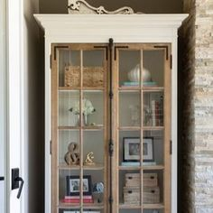 Small China Cabinet, Farmhouse China Cabinet, China Cabinet Display, China Cabinet Redo, Repurposed China Cabinet, Vintage Cabinet, Display Cabinets, Living Room Glass Cabinet, Glass Cabinet Doors