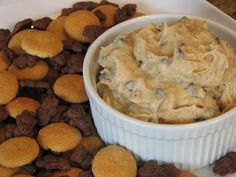 Browned Butter Chocolate Chip Cookie Dough Dip (Or Frosting) @ FriendsFoodFamily.com