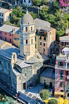 Vernazza, Cinque Terre, province of La Spezia , Liguria