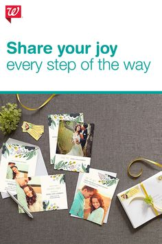 Some photos are just meant to be shared and photo cards are a great way to do it! Create custom photo cards and use them to stay in touch with family and friends.