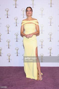 Daniela Di Giacomo attends Premios Tv y Novelas 2017 at Televisa San Angel on March 26, 2017 in Mexico City, Mexico.