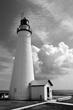 Fill My Skies with Clouds - fort Gratiot Lighthouse, Port Huron, Michigan 2013