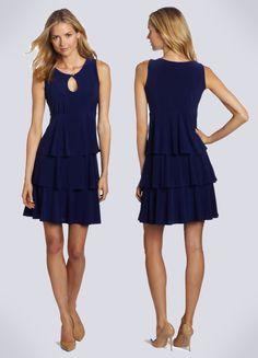 Navy Cocktail Dress