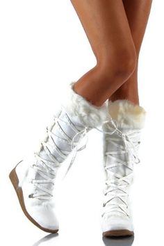 48.99 Winter White Wedding Boots