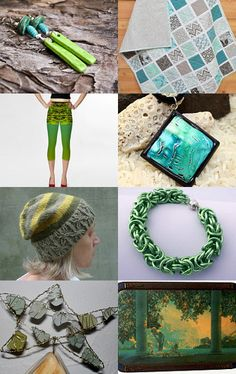 Spend Some Green, Get Some Green by Christine Delea on Etsy--Pinned with TreasuryPin.com