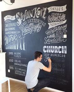 Chalkboard Invitation, Chalkboard Print, Chalkboard Lettering, Cafe Interior Design, Cafe Design, Menu Board Design, Craft Logo, Diy Letters, Coffee Shop Design