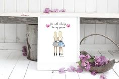 Birthday Gifts For Best Friend, Best Friend Gifts, Gifts For Friends, Dorm Door Decorations, Two Blondes, Friends Hugging, Best Friend Drawings, Person Drawing, Three Best Friends