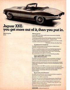 Jaguar Type, Jaguar Xk, Automobile, Car Advertising, E Type, Citroen Ds, Car And Driver, Car Photos, Old Cars