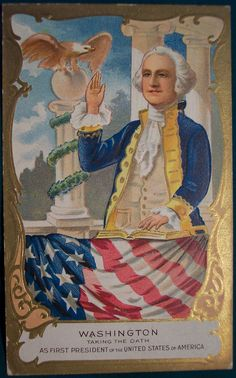"Presidents Day Postcard ""Vintage George Washington Postcard"" | Flickr - Photo Sharing!"