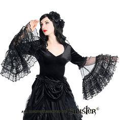 Top 863 & Skirt 862 www.sinister.nl