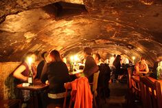 Gordon's Wine Bar, London, is the perfect spot for Valentine's, offering an intimate cave-like space that's totally romantic