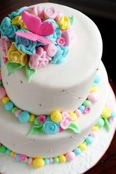 Dream cake for a little girl!