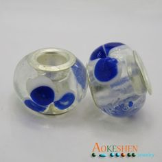 $1.39  10x15mm White and Transparent with Blue Pattern European Style Charm Beads http://www.eozy.com/10x15mm-white-and-transparent-with-blue-pattern-european-style-charm-beads.html