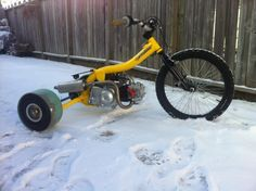 Gas Powered Drift Trike Build!! - Page 2