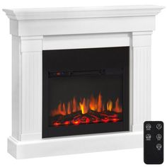 Free Shipping. Buy Best Choice Products 4700 BTU Wood Mantel Electric Fireplace W/ Remote Control, Mounting Brackets Included at Walmart.com