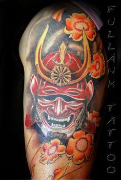 Samurai Mask Tattoos - Bing Images