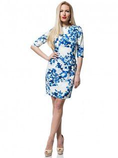 f0e4fab7f751 Dámske šaty s kvetinovým vzorom NELITA - pestrofarebný