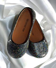 Toddler Glitter Ballet Flat Shoes