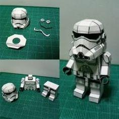 DIY Stormtrooper Papercraft | technogad