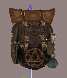 Mage Backpack by Tumbajamba at Skyrim Nexus - mods and community