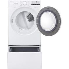 LG Electronics 27 in. Laundry Pedestal with Storage Drawers for Washers and Dryers in - The Home Depot Injection Mold Design, Lg Washer And Dryer, Kenmore Washer, Laundry Pedestal, Laundry Supplies, Lg Electronics, Front Load Washer, Drawer Dividers, Dryers