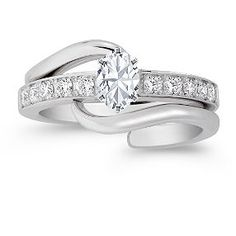 This is my ring except with a different diamond