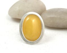 Check out our yellow opal stone selection for the very best in unique or custom, handmade pieces from our shops. Yellow Rings, Jewelry Shop, Opal, Gemstone Rings, Sterling Silver, Rocks, Stones, Cocktail, Shopping