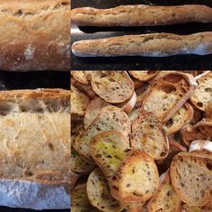 Baguette toasts