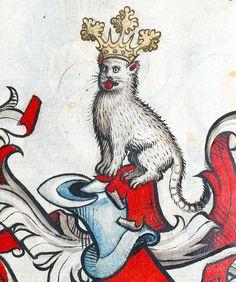 Scheibler Armorial, Germany ca. 1450-1480 (München, Bayerische Staatsbibliothek, Cod.icon. 312 c, p. 258)