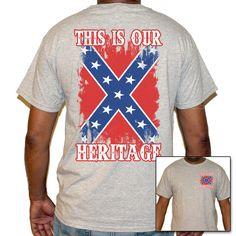 afde8b3a759a7 Confederate Flag T-shirt