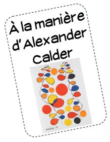 Alexander Calder The post Alexander Calder appeared first on Edelweiss Laboy Leyva. Alexander Calder, Kindergarten Art Lessons, Art Lessons Elementary, Art Montessori, Ecole Art, Mobile Art, Art Curriculum, Learn Art, Preschool Art
