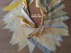 #Bunting #Banderolas #Yellow Party #Qkilandia