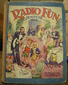 RADIO FUN 1954