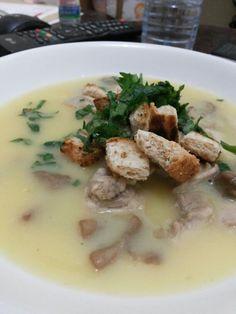 Home made cream soup