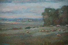 Pastoral Scene Artist: A. Wilson (American)