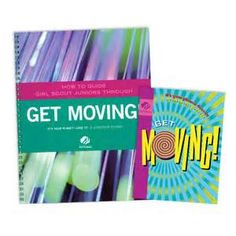 JUNIOR GET MOVING! AND ADULT GUIDE JOURNEY BOOK SET $11.25 #67712 How-To-Guide Journey Book Set. Each companion guide for adult volunteers offers key information about the journey, its awards, and its leadership benefits, along with step-by-step sample plans for sessions with the girls.